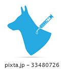 動物 わんこ 犬のイラスト 33480726