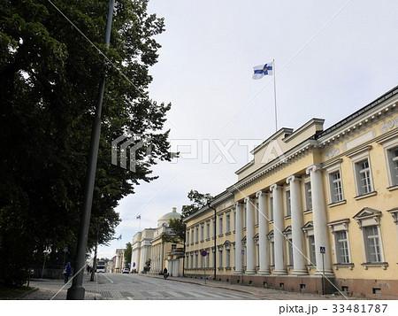 ヘルシンキ大学の建物とフィンランド国立図書館 33481787