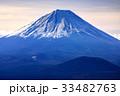 三方分山山頂から眺める冬の富士山 33482763