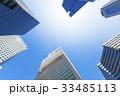 オフィス街の高層ビル 33485113