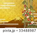 金箔 富士山 富士のイラスト 33488987
