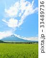富士山 青空 夏の写真 33489736