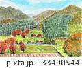 里山の秋 33490544