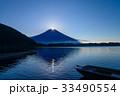 ダイヤモンド富士 田貫湖 富士の写真 33490554