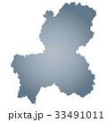 岐阜県地図 33491011