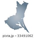 茨城県地図 茨城県 地図のイラスト 33491062