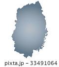 岩手県地図 岩手県 岩手のイラスト 33491064