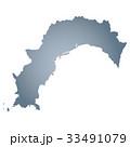 高知県地図 33491079