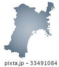 宮城県地図 宮城県 地図のイラスト 33491084