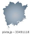 岡山県地図 33491118