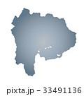 山梨県地図 33491136