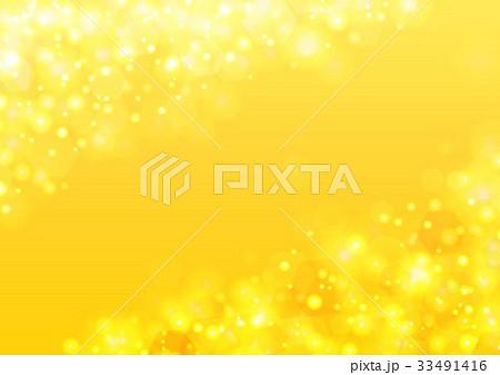 黄色キラキラ背景 33491416