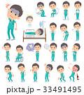 男性 医者 病気のイラスト 33491495