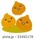 玉葱 野菜 親子のイラスト 33492178