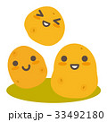 じゃがいも 芋 野菜のイラスト 33492180
