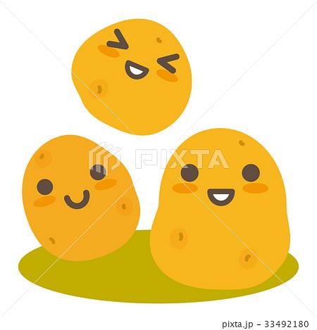 ジャガイモの親子 33492180