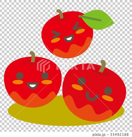 リンゴの親子 33492188