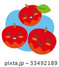 りんご 林檎 果物のイラスト 33492189