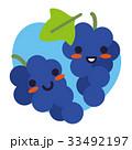 ぶどう 葡萄 果物のイラスト 33492197