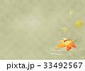 メダカと赤とんぼヨコ(薄緑) 33492567