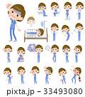 女性 医者 外科医のイラスト 33493080