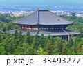 東大寺大仏殿と興福寺五重塔 33493277
