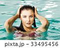 プール 女 女の人の写真 33495456