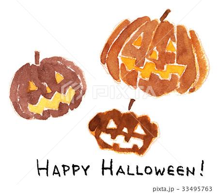 ハロウィンかぼちゃ 33495763