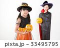 仮装 ハロウィン 魔法使いの写真 33495795
