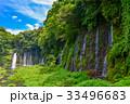 【静岡県】夏の白糸の滝 33496683