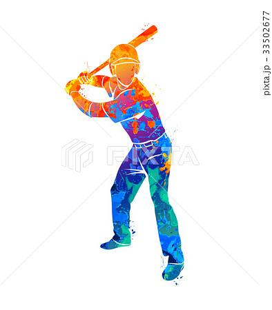 baseball player ball 33502677