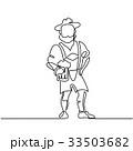 人 男 男の人のイラスト 33503682