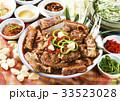 カルビチム 肉 食べ物の写真 33523028