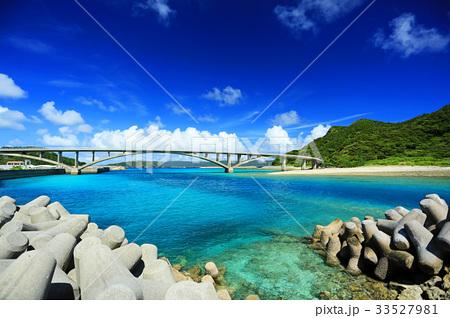 沖縄 慶良間諸島 阿嘉島 ケラマブルーの海【2017年8月撮影】 33527981