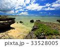沖縄 読谷村 海の写真 33528005