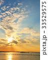 冬の夕暮れ風景 33529575