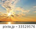 冬の夕暮れ風景 33529576