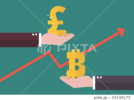 Currency exchange Pound sterling and Bitcoin 33530175
