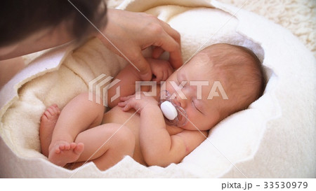 Happy Family and her Child. Beautiful conceptual 33530979
