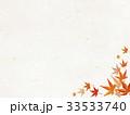 和紙 紅葉 楓のイラスト 33533740