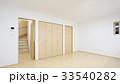 新築住宅 リビングダイニングキッチンと階段 33540282