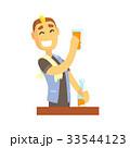 バーテン バーテンダー 人のイラスト 33544123
