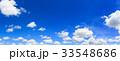 背景 ブルー 青の写真 33548686