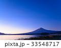 河口湖 富士山 夜明けの写真 33548717