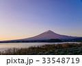 河口湖 富士山 夜明けの写真 33548719