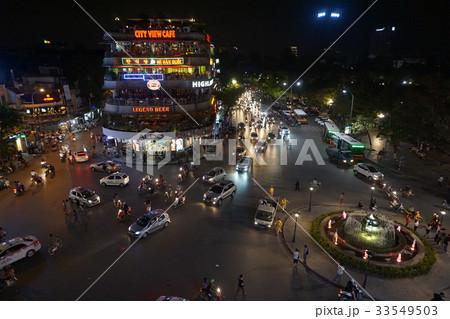 ベトナム ハノイ 夜景 33549503
