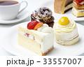 ケーキ ショートケーキ デザートの写真 33557007