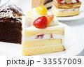 ケーキ ショートケーキ イチゴケーキの写真 33557009