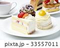 ケーキ ショートケーキ デザートの写真 33557011
