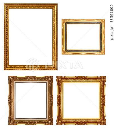 antique golden frame 33561809